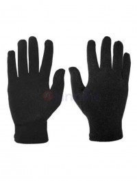 1 Pair Spring Summer Spandex Black Thin Stretch Gloves Bike-Scooter Riding-Driving Gloves