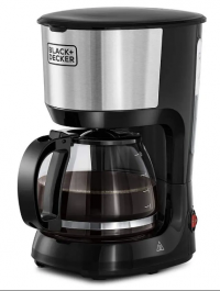 10 Cups Coffee Maker With Glass Carafe For Drip Coffee