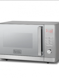 30L Microwave Oven With Grill & Mirror Finish