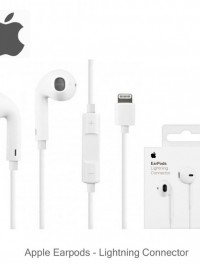 APPLE ORIGINAL LIGHTNING EARPODS APPLE IN EAR EARPHONES AND HEADPHONE WITH MICROPHONE FOR IPHONE 7 TO THE IPHONE 12PRO MAX