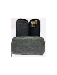 Artificial Leather Key Bag 6 inch