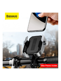 Baseus Motorcycle Phone Holder for Bicycle Rear View Mirror Mount Stand Scooter