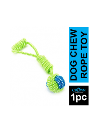 Braided Dog Chew Toy Style Cotton Rope Pet Toy 15 Inches