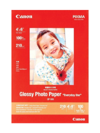 """Canon GP-508 Glossy Photo Paper Size 4 x 6"""" 210 GSM - 100 Sheets"""