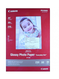 Canon GP-508 Glossy Photo Paper Size A4 210 GSM - 20 Sheets