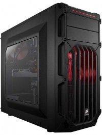 Carbide Series™ SPEC-03 Red LED Mid-Tower Gaming Case