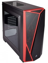 Carbide Series™ SPEC-04 Mid-Tower Gaming Case — BlackRed