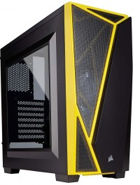 Carbide Series™ SPEC-04 Mid-Tower Gaming Case — BlackYellow