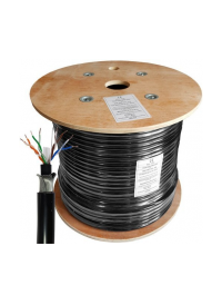 Cat6 UTP 23AWG Solid Bare Copper Outdoor Cable