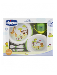 Chicco Baby Meal Set Green