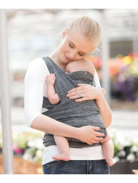 Chicco Boppy Comfyfit Baby Carrier Grey