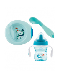 Chicco Weaning Set For Boy 6m+