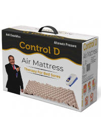 Control D Alternating Pressure Pad - Air Mattress Pad And Electric Pump System - Quiet, Inflatable Bed Air Topper For Pressure Ulcer Sore Treatment - Fits...(air Mattresses)