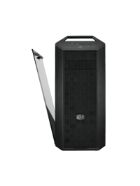 Cooler Master MasterCase MC500 Mid-Tower ATX Case w/ FreeForm Modular, Front Mesh Ventilation, Tempered Glass Side Panel, Carrying Handle & Cable Management Cover