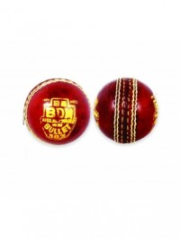Cricket Ball 2 Cups Bdm Bullet-Red