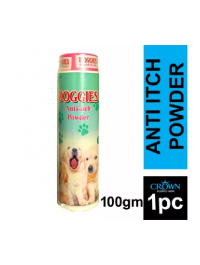 DOGGIES Anti Itch Powder For Pets Itching 100GM