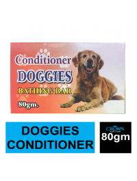 DOGGIES Conditioner Bathing Soap Bar For Dog Pet 80gm