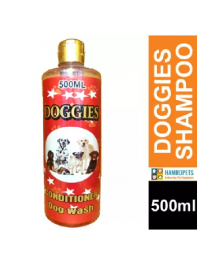 DOGGIES  Conditioner Wash Shampoo 500ml For Dogs Cats Pets