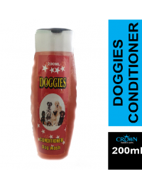 DOGGIES Shampoo Conditioner For Fleas & Ticks 200ML For Dogs Cats Pets