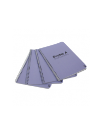 Double A Pack Of 4 Professional Notebook - Light Blue