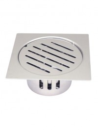 Drain with Cockroach Trap Square - 5'' ART 48518