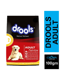 Drools Adult Chicken and Egg Dog Food 100g