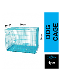 Foldable 2ft Bold Wire Pet Cage For Dogs Cats 60cm