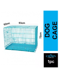 Foldable 3ft Bold Wire Pet Cage For Dogs Cats 93cm