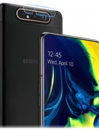 Full Coverage Tempered Glass Ultra-thin Camera Lens Protector for Samsung Galaxy A90 / A80