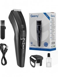 Geemy GM-6250 USB Rechargeable Hair & Beard Trimmer / Clipper with Adjustable Blade ( 1mm - 10mm )