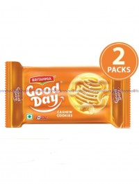 Goodday Rich Cashew Cookies 200 gm pack of 2