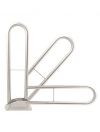 Grab Bar For Handicapped Persons MS (Mild Steel) White ART 56631