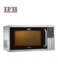 IFB Microwave Oven Grill Series-20PG4S, Metallic Silver-20 L