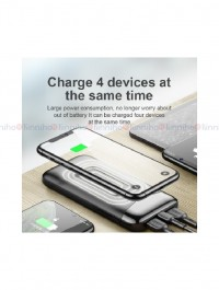 Joyroom 20000mAh 10W Qi Wireless Power Bank, USB C 18W Power Delivery Quick Charge Portable Charger Compact External Battery Pack with LED Display for iPhones Samsung & Other Device