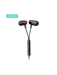 Joyroom 3.5mm Wired Earphones Noise Isolating in-Ear Headphones with Pure Sound and Powerful Bass