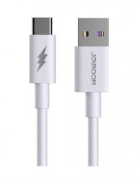 Joyroom Super Fast Charging Data Cable Type c - White   S-1050M7