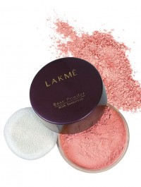 Lakme Rose Face Powder with Sunscreen Compact (01 soft pink)