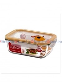 Lock & Lock 1.6 Ltr  Oven Glass Rectangular Container