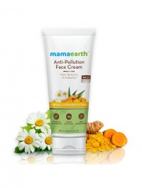 Mamaearth Anti-Pollution Daily Face Cream for Dry & Oily Skin with Turmeric & Pollustop For a Bright Glowing Skin - 80ml