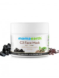Mamaearth C3 Face Mask With Charcoal, Coffee & Clay 100ml