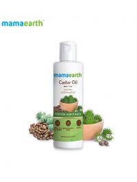 Mamaearth Castor Oil For Healthier Skin, Hair And Nails With 100% Pure And Natural Cold-Pressed Oil, 150Ml