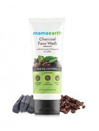 Mamaearth Charcoal Natural Face Wash For Oil Control 100ml
