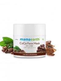 Mamaearth CoCo Face Mask, For Skin Awakening, With Coffee & Cocoa