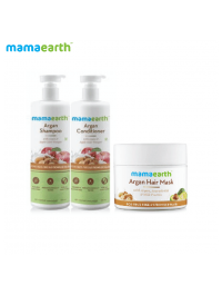 mamaearth Frizzy and strong hair kit