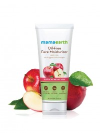 Mamaearth Oil-Free Moisturizer For Face With Apple Cider Vinegar For Acne Prone Skin - 80 ml