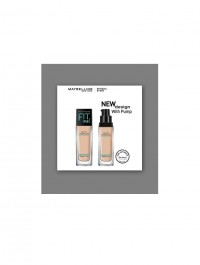Maybelline New York Fit Me Matte+Poreless Normal to Oily Skin Foundation 30ml-New Pump Pack Shade-120(Classic Ivory)