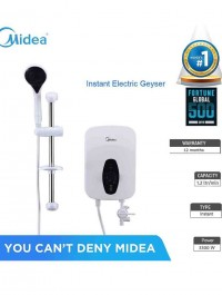 Midea Instant Electric Geyser (DSK33Q) with SHOWER head (3300 Watts)
