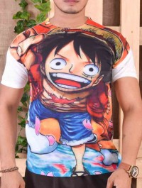 One Piece Anime T-shirt For Men