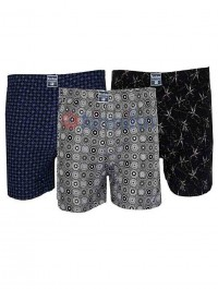 Pack Of 3 Roober Boxer For Men- Multi-Color