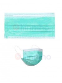 Pack Of 50 3 Layers Filter Disposable Kids Mask Face Mouth Masks Children Non Woven Protective Safety Masks